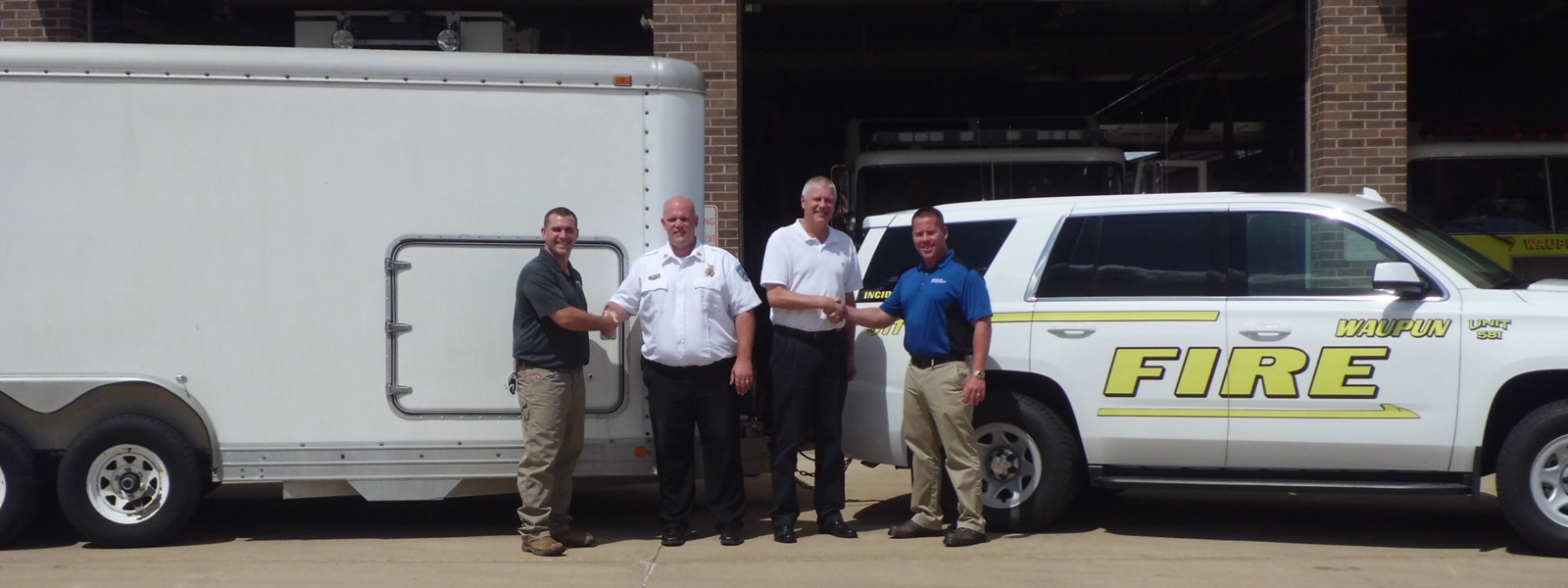 Koch Pipeline Company Donates Emergency Response Equipment to Waupun Fire Department