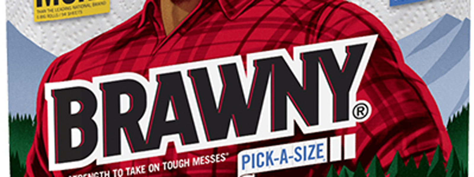 Brawny is Bigger and Better Than Ever