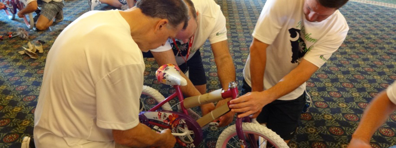 Northeast sales team builds bikes for children in need