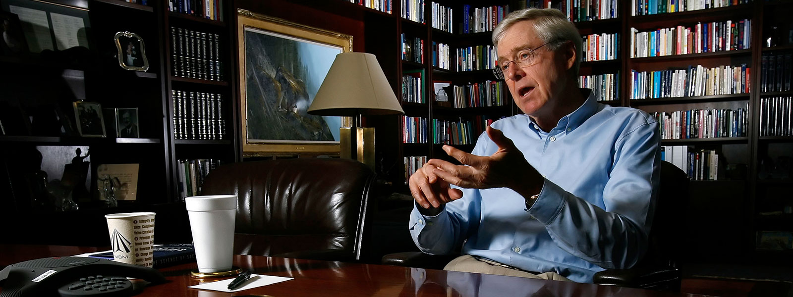 Charles Koch: The Closing of the American Mind