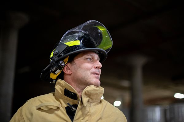 Shannon Johnsey, Muskogee Mill's fire chief
