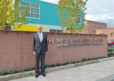 David Koch MIT Daycare Dedication