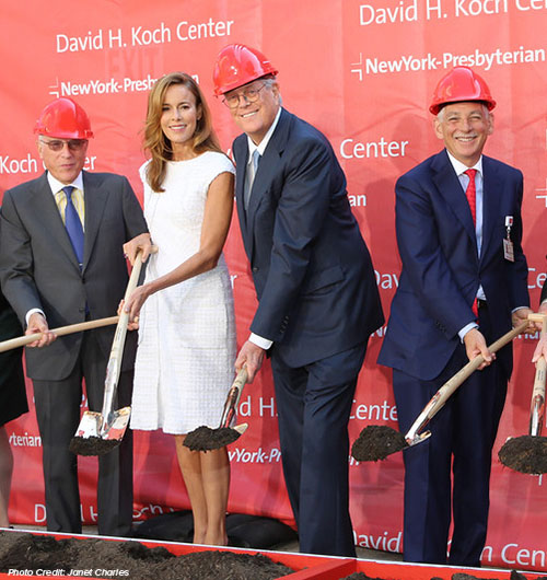 David Koch NewYork-Presbyterian Hospital Groundbreaking