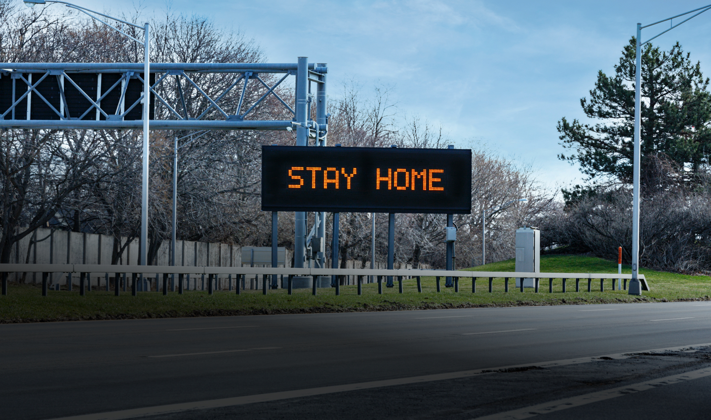 Stay home header