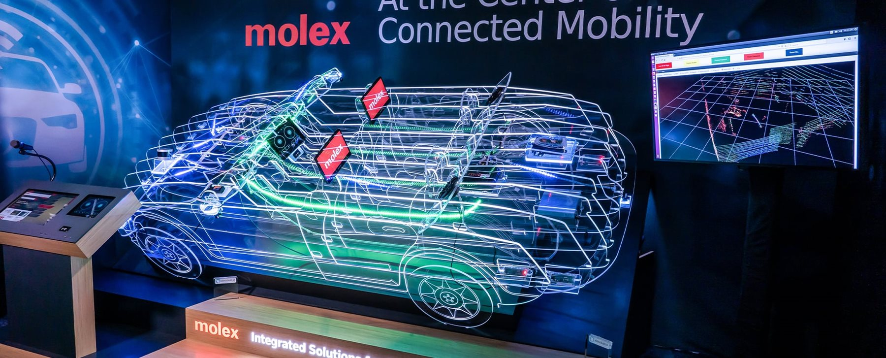 Smart Car Diagram Molex Connected Mobility